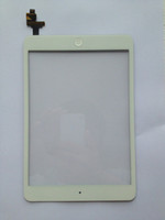 Wholesale touch screen digitizer without IC for Ipad Mini with Ipad mini case as a gift