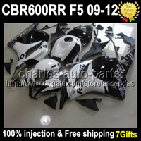 7gifts 100% Injection For HONDA F5 09 10 11 12 CBR600RR Reps...