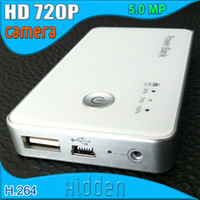 Wholesale HD P MP H Motion Detection DVR Power Bank candid Spy Camera Hidden Camcorder