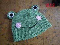Boy Winter Crochet Hats Hand Crochet Baby Flower Hat, Spring Knitted Girls' Flower Cap, Handmade Baby Hat, Kids Infant Beani 20pcs Free shipping