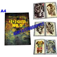A4 size pattern tattoo designs - New Design Tattoo Books A4 High Quality Tattoo Fashion pattern Tattoo Kits For Tattoo Art Hot Sale