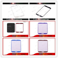 Wholesale High Quality OEM Front Screen Glass Replacement For Samsung Galaxy S4 i9500 i9505 i337 S3 i9300 S3 Mini i8190 S4 Mini Free DHL EMS