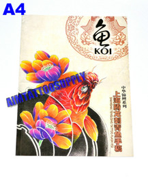 Wholesale Tattoo Books A4 high quality art tattoo book for tattoo