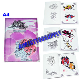 Wholesale New Design Tattoo Books A4 High Quality Tattoo Fashion pattern Tattoo Kits For Tattoo Art Hot Sale