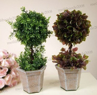 Christmas   Large artificial plants spherical artificial tree plants bouquet plants grass ball 4 super artificial bonsai MYY5457