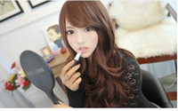 Wholesale new arrival lady s fashion fluffy big wavy long curly wig WY39 p