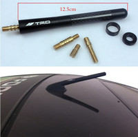 Wholesale Black Carbon Fiber Car Aerial Radio Antenna Screws for INFINITI FX35