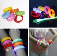 Wholesale Silicone Wrist Band gift Factory Price Direct Selling LED Anion Silicone Bracelet Band Luminous Hand Ring L229