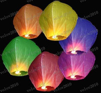 Wholesale LLFA1821 Factory Direct Sale FIRE SKY CHINESE LANTERNS BIRTHDAY WEDDING PARTY