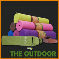 Wholesale HATHA Genuine thick pvc yoga mat mm tasteless piece suit yoga mat anti slip yoga mat