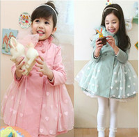 Tench coats baby trench - children s out wear kids clothing children s tench coats baby girls bow grenadine trench coats girl wind coat outwear s l