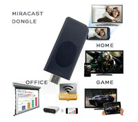 Wholesale Miracast Dongle WiFi Display HDMI Mini Portable Dongle Mini Player Wireless Networking For PC Smart Mobile Phone Pad Laptop Newest