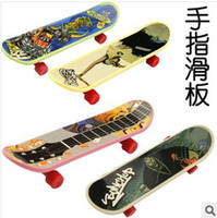 Wholesale X New mm Stylish Mini Fingerboard Finger Skate Board multicolor xq25