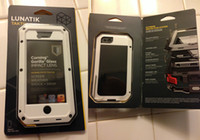 Wholesale dhl New Package Lunatik Taktik Extreme Warrior Aluminum Case for iphone G