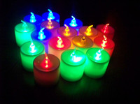 Wholesale LED Smokeless flameless Flickering Battery Candles Tea Light Christmas For Promotions Best Price L231