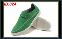 Cotton Fabric Men Genuine Leather Mens Fashion Casual Shoes Leisure Nubuck Skateboard Shoe Men Low Cut Round Toe Rubber Green Sneakers