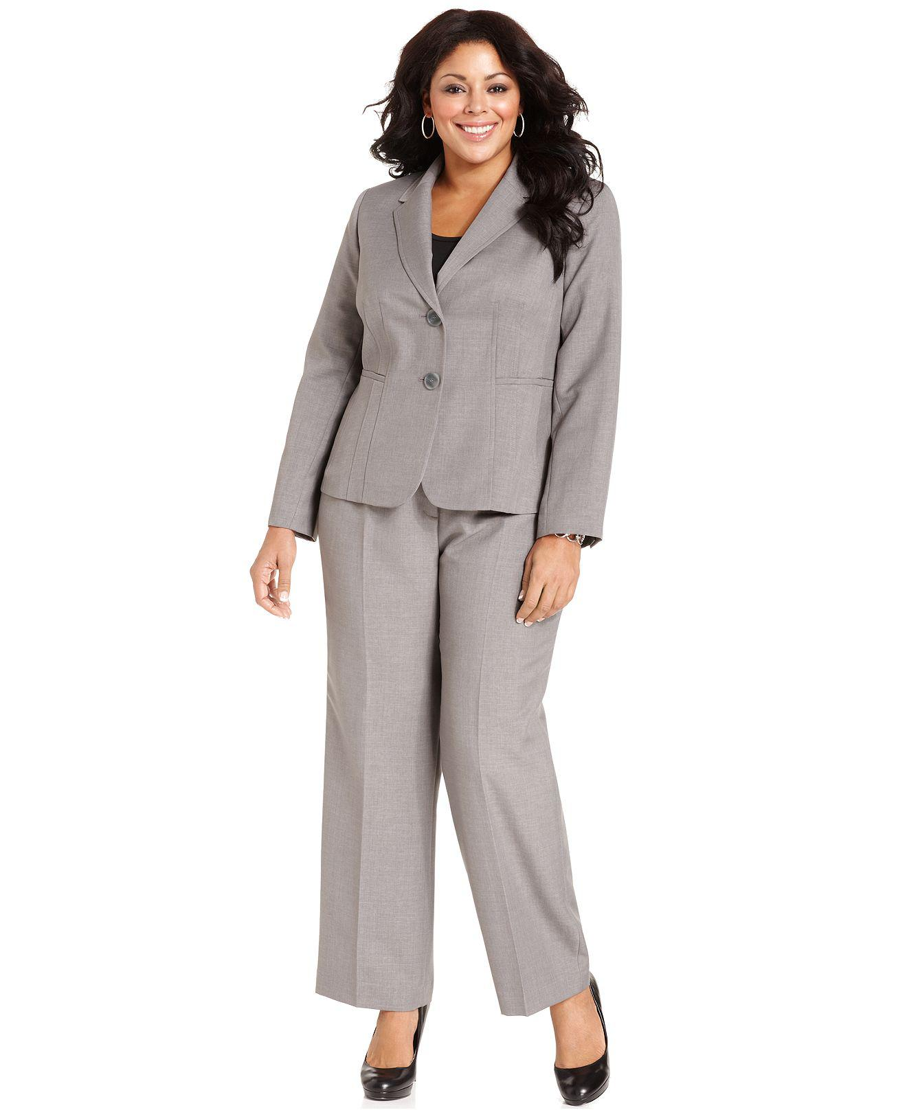 Gray plus size dress pants – Dress ideas