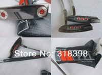 Wholesale Golf Clubs Black CA Golf Putter With Steel Shaft And Cover Modles PC