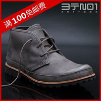 Wholesale TMMO Outdoor Boots Lacing Boots Fringed Frock Casual Genuine Leather Motorcycle Boots Men Shoeses Round Rubber Shoeses