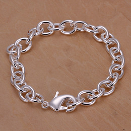Fashion 925 Silver Links Chain Bracelets Jewelry Usefully Link Chain Fit Charms Pendants Bracelets Hot Sale Free Shipping