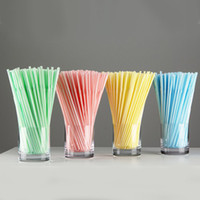 Wholesale Throwaway Bendable Party Drinking Straws Flexible Pipe Plastic Product Daily Use ctn XG018