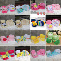 10 Pair lot + Unisex Baby Kids Toddler Cartoon Girl Boy Anti...