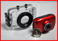 Wholesale 2013 Hot D10 Mini Helmet Waterproof HD Action Camera Sport Outdoor Camcorder DV D10 P