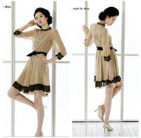 Wholesale 2013 summer new chiffon dress SZ1204