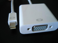 Wholesale Thunderbolt Mini Displayport Male to VGA Female Cable Adapter