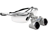 Cheap New Design Siliver 2.5 X Dental Surgical Binocular Loupes Dentist 420mm