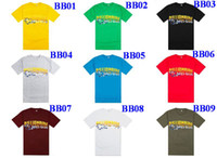 Men 100% Cotton Round BBC Hip Hop Street Short Sleeve Tshirts BILLIONAIRE BOYS CLUB Men's T-shirts Round Neck Pullover Tshirts Mixed order High Quality