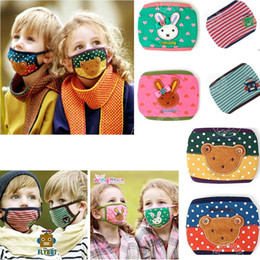 Wholesale Korea Winghouse Bopokid Cartoon Child Respirator Mask Good Cute Baby Cotton Breathing Masks Care Anti flu Free Delivery