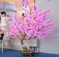 Yes PVC LED Bulbs 2013Top sale !1.5M*1.2M 85W outdoor garden landscape tree led Christmas decorative artificial bonsai maple trees light free shipping