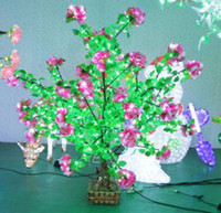 LED Bulbs 1 85 2013 !1.5M*1.2M 85W outdoor garden landscape tree led Christmas decorative artificial bonsai maple trees light free shipping