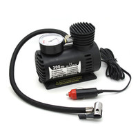 car mini compressor air pump - Brand New V Car Auto Electric Car Portable Pump Mini Air Compressor Tire Inflator Tool PSI Freeshipping