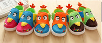 Wholesale 10 off Classic colors cute Birds baby antiskid shoes with box first walker shoes toddler shoes cheap shoes baby wear pairs ZL