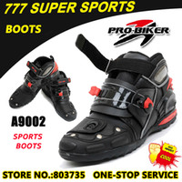Wholesale High Quality Motorcycle Boots Bike Cycling Racing Footwear sport boots Sport Racing Shoes super Motorbike Protection gears A9002
