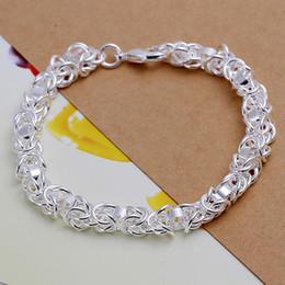 Mix 45 Styles Fashion 925 Silver Links Chain Bracelets Jewelry Woman Girl Lady Lobster Clasp Links Chain Bracelets Birthday Gift