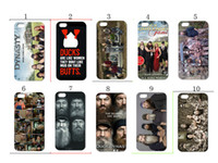 Wholesale 2013 Duck Dynasty Commander Hey jack Uncle designs white case hard back cover for iphone s