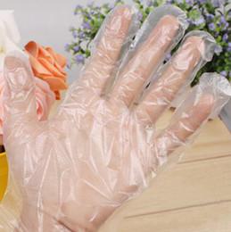 Wholesale PE Convenient Plastic Transparent Disposable Gloves For Industry Market Restaurant Home Service