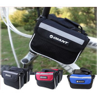 Wholesale Outdoor Sport GIANT Cycling Bike Travel Frame Saddle Pannier Front Tube Bag In Multi purpose Bag