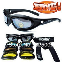 Wholesale Daisy C5 Desert Storm Goggles with UV400 riding goggles motorcycle glasses sunglasses