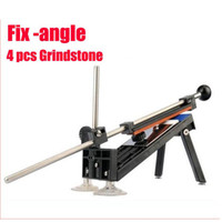 angle grinding machine - Hot Brand New Sharpeners Professional Kitchen Knife Sharpener System Fix angle Stones Grinding Machine
