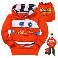 Wholesale spring autumn children clothing children hooded jacket boys and girls kids car longsleeved jacket