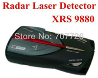Alarm Systems & Security XRS 9880 100% Cheapest Factory price Orginal rada car Cobra XRS 9880 Digital Radar Laser Detector show speed Show the frequency 15 Band Russian English free shipping