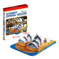 Wholesale DIY d Educational Puzzles Building Sydney Opera House christmas GIFTS for kids