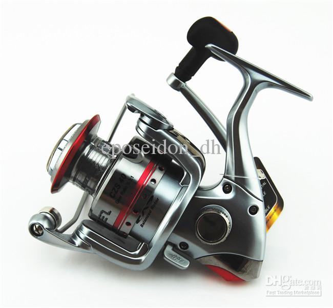 Ecooda 8 Bbs 5.3:1 Czs40 Open Face Spinning Fishing Reel Heavy Duty Metal Gearing High Speed Rolling Smoothly Fly Reels Cheap Fi