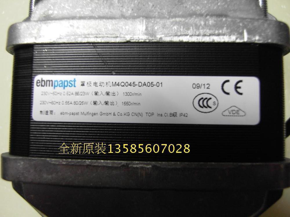 fan pole. !new original ebmpapst blowers m4q045-da05-01 shaded pole motor q axial fan cheap free shipping!new origina online with $62.75/piece on