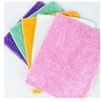 cleaning rags - 50pcs Magic Washing Dish Cleaning Cloth Kitchen Non stick Oil Bamboo Fibre Towel Dish Washing Cloth Cooking Cloth Cleaning Rags cm