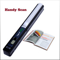 Wholesale SkyPix TSN410 Portable Mobile HANDYSCAN Handheld A4 SCANNER Cordless Scan DPI